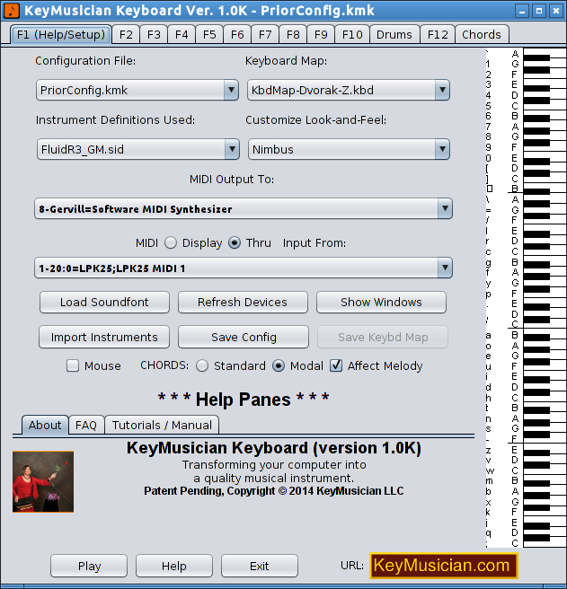 Change Keyboard Mapping on