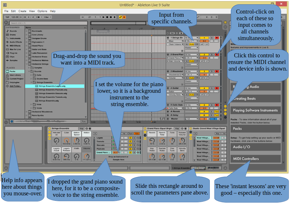 Setting-Up Ableton Live