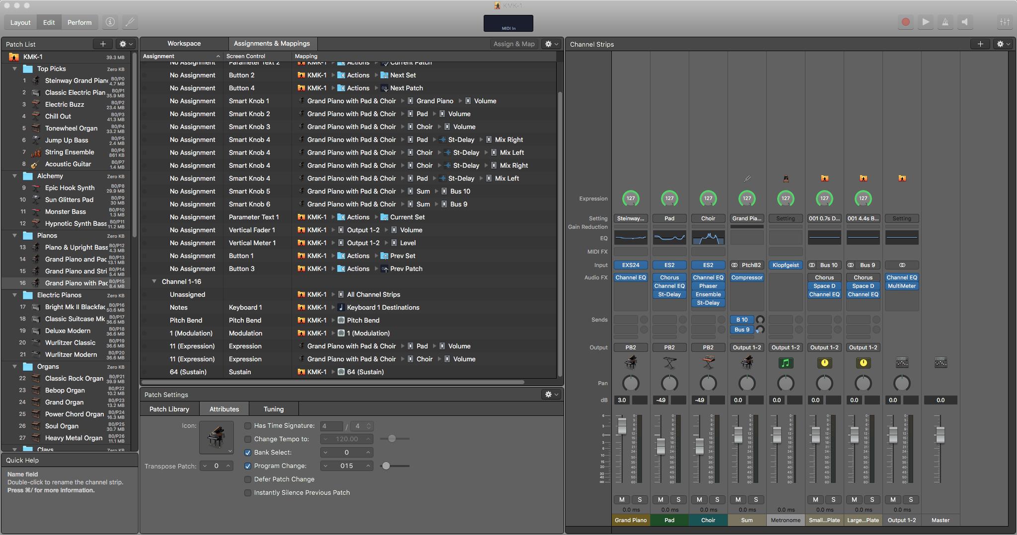 Using MainStage On Mac OS X