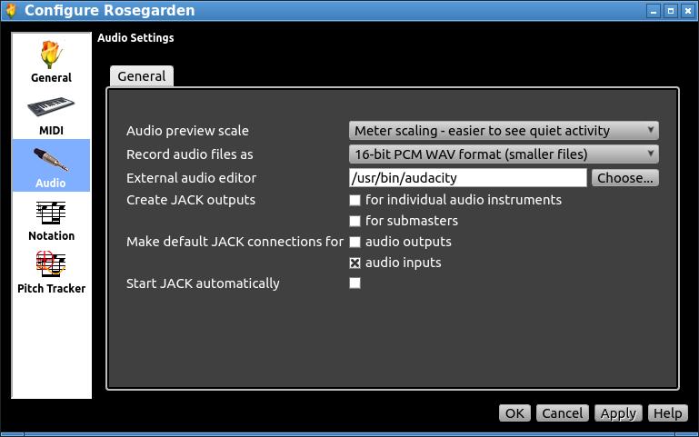 A KMK Configuration For Rosegarden